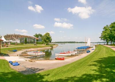 Bootsverleih Hafen
