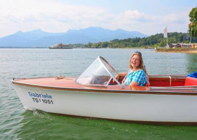 Elektrobootfahren macht Spaß